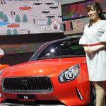 Kecantikan gadis Jepang yang mewarnai Tokyo Motor Show 2017