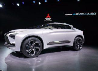 Debut dunia Mitsubishi e-Evolution Concept di Tokyo Motor Show 2017
