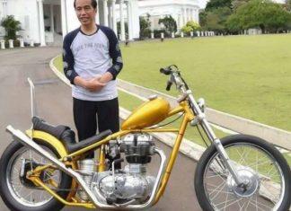 spesifikasi motor kustom presiden jokowi