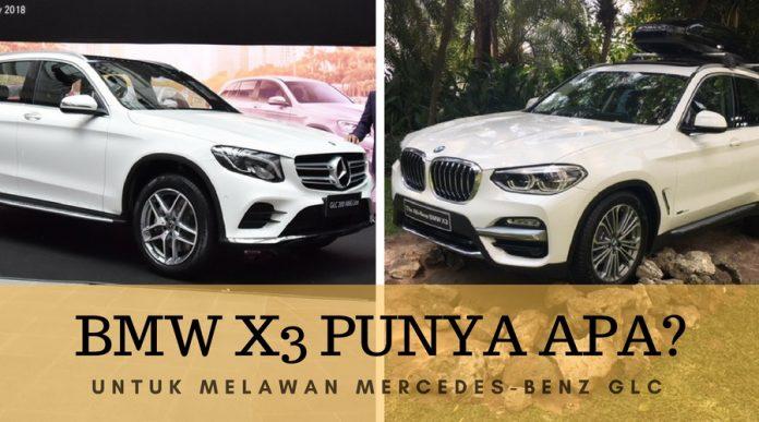 BMW X3 vs Mercy glc