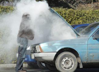 mesin overheat