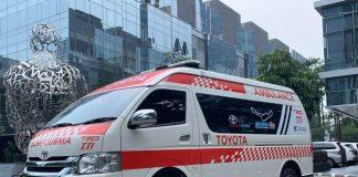 ambulance sirkuit sentul toyota team indonesia