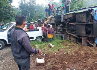kecelakaan bus di Ciater, Subang