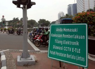 tilang elektronik berlaku bagi semua kendaraan