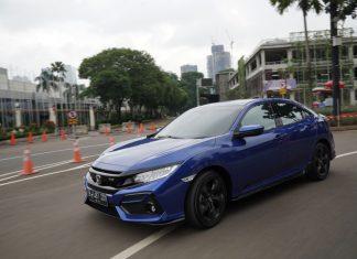 test drive performa new honda civic hatchback rs