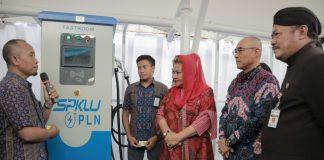 tarif ngecas kendaraan listrik di spklu
