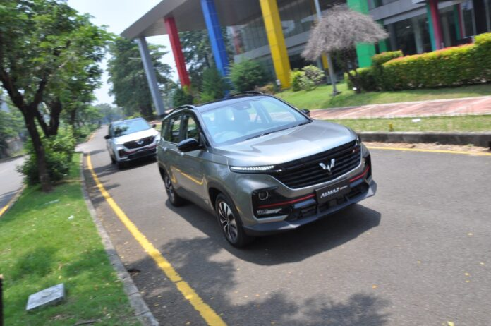 wuling almaz rs wise