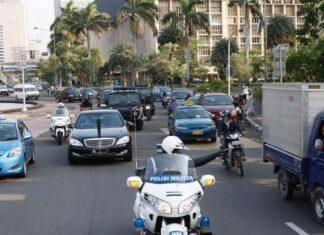 konvoi mobil presiden
