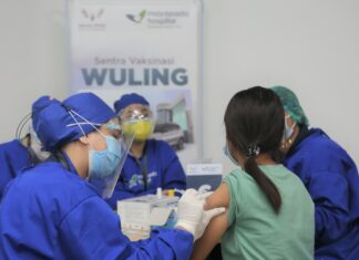 wuling vaksinasi