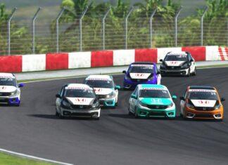 Honda racing simulator