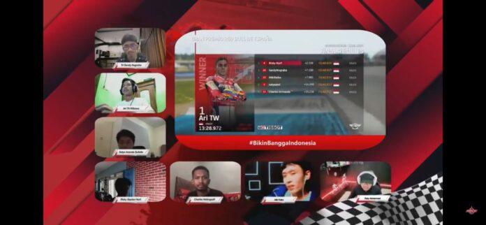 balap motor virtual FOGM2 Siap Adu Balap