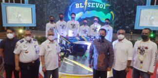 Motor listrik BL-SEV01 tuntaskan touring 1.340 kilometer